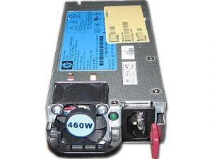 HP 499249-001 460 WATT 12 VOLT COMMON SLOT HIGH EFFICIENCY REDUNDANT POWER SUPPLY FOR PROLIANT DL380 G6 ML350 G6 G7 GEN8 DL380P E5-2609V2.