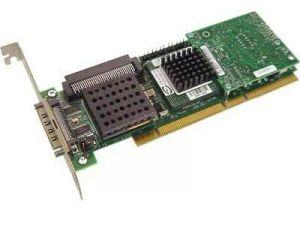 1U295 DELL 1U295 PERC4 SINGLE CHANNEL PCI-X ULTRA320 SCSI RAID CONTROLLER CARD WITH 64MB CACHE.