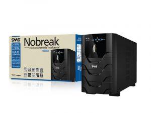 SMS Nobreak Power Sinus II NG 3200VA 1984W (Entrada Bivolt /Saída 115V), expansivel, USB/Serial, com 10 tomadas