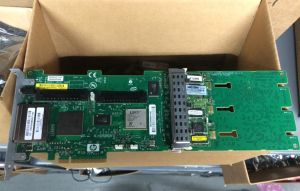398647-001 HP 398647-001 SMART ARRAY P800 16PORT PCI EXPRESS X8 SAS RAID CONTROLLER WITH 512MB CACHE (WITH STANDARD BRACKET)