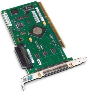 403051-001 HP 403051-001 SINGLE CHANNEL 64BIT 133MHZ PCI-X ULTRA320 SCSI HOST BUS ADAPTER WITH BRACKET CARD ONLY.