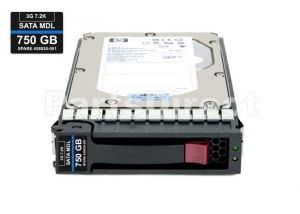 HPE 459320-001 750GB 7200RPM 3.5INCH SATA-II MIDLINE HOT SWAP HARD DISK DRIVE WITH TRAY