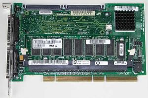 47FJR DELL 47FJR PERC3 DUAL CHANNEL ULTRA160 LVD SCSI RAID CONTROLLER WITH 128MB CACHE.
