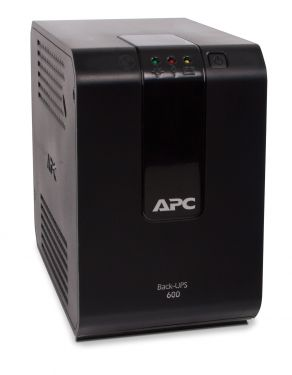 APC Nobreak Back-UPS 600VA 300W (Entrada 115V/Saida 115V) com 4 tomadas