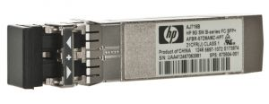 AJ716B HP AJ716B 8GB SHORTWAVE B-SERIES FIBRE CHANNEL 1 PACK SFP+ TRANSCEIVER.