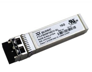 FTLF8529P3BCV-QL QLOGIC FTLF8529P3BCV-QL 16GB-S SHORT WAVELENGTH SFP+ HOT PLUG 850NM TRANSCEIVER.