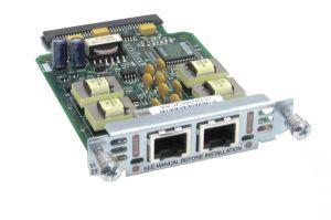 VIC2-2EM CISCO VIC2-2EM VOICE INTERFACE CARD - EXPANSION SLOT.