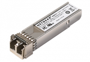AXM761 - Transceptor SFP + 10GBASE-SR - Óptica SFP + para fibra multimodo 50 / 125µm OM3 ou OM4