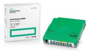 Fita de dados LTO-8 HPE Ultrium de 12TB/30TB| Modelo: Q2078A